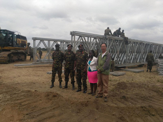 Bailey Bridge For Kenya