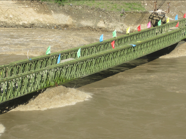 Bailey Bridge For Sichuan