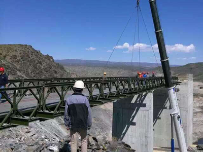 Bailey Bridge For Xinjiang